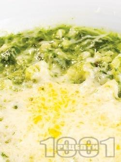 Спанак с кус-кус и тофу - снимка на рецептата